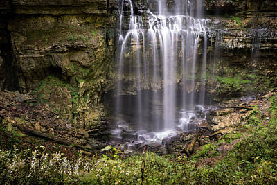 Photograph - Virgin Falls Tennesse Lower Section by Douglas Barnett
