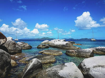 Photograph - Virgin Gorda Catamarans by Colleen Kammerer