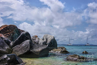 Photograph - Virgin Gorda Island The Baths by Olga Hamilton