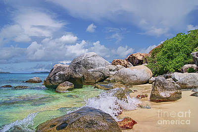 Photograph - Virgin Gorda The Baths by Olga Hamilton