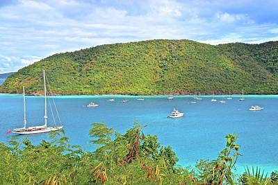 Photograph - Virgin Island Getaway by Frozen in Time Fine Art Photography