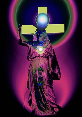 Queen Mary Mixed Media - Virgin Mary No. 02 by Ramon Labusch