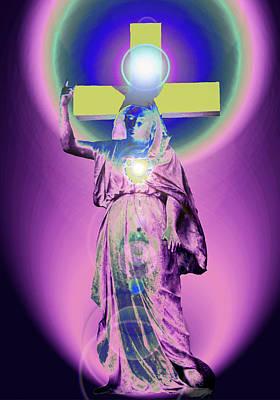 Queen Mary Mixed Media - Virgin Mary No. 03 by Ramon Labusch