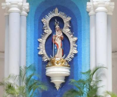 Photograph - Virgin Mary Shrine by Karen J Shine
