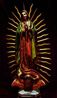 Photograph - Virgin Of Guadalupe by Joan Reese