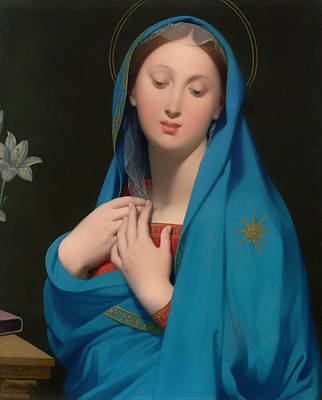 Christian Artwork Painting - Virgin Of The Adoption by Mountain Dreams