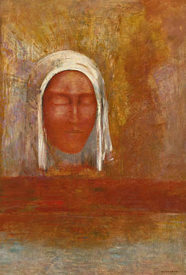 Painting - Virgin Of The Dawn by Odilon Redon