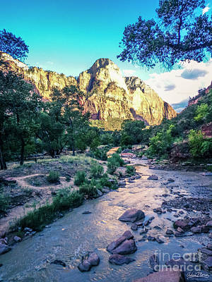 Photograph - Virgin River by Adam Morsa