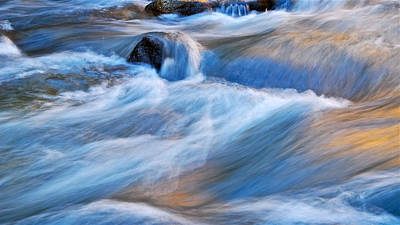 Photograph - Virgin River Flow, Zion Np, Utah by Flying Z Photography by Zayne Diamond