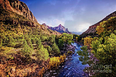 Photograph - Virgin River by Scott Kemper