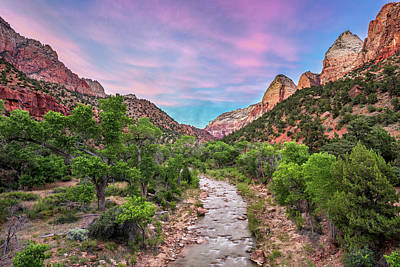 Photograph - Virgin River Summer by Anthony Heflin