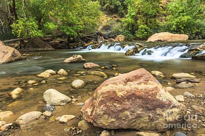 Photograph - Virgin River Zion by Ben Graham