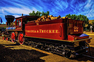 Virgina Photograph - Virgina And Truckee No 22 by Garry Gay