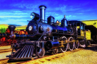 Virgina Photograph - Virgina Truckee Black 25 by Garry Gay