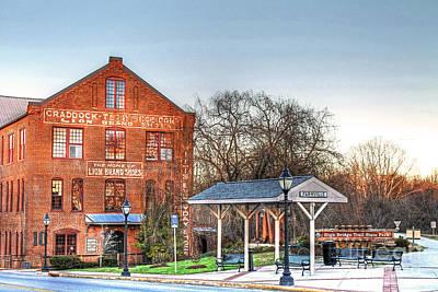 Hampden-sydney College Photograph - Virginia Art - Historic Farmville Va Virginia  by Janet Lynch