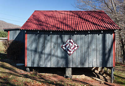 Photograph - Virginia Barn Quilt Series IIi by Suzanne Gaff