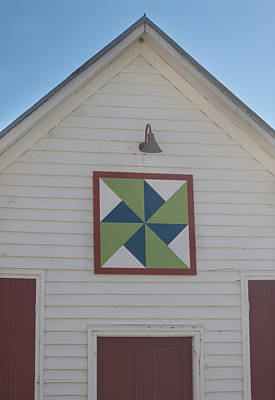 Photograph - Virginia Barn Quilt Series Iv by Suzanne Gaff