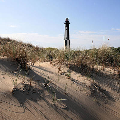 Photograph - Virginia Beach And The New Cape Henry Lighthouse by JC Findley