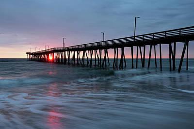 Photograph - Virginia Beach Fishing Pier by Jamie Pattison