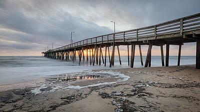 Photograph - Virginia Beach Fishing Pier by Joshua McDonough