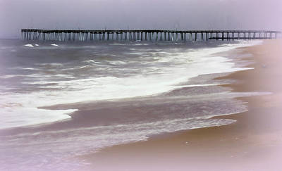Photograph - Virginia Beach Fishing Pier by Leslie Montgomery