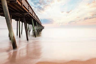 Photograph - Virginia Beach Sunrise by Lisa McStamp