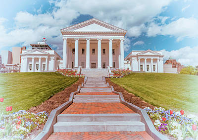 Photograph - Virginia Capitol 2 by Jonathan Nguyen