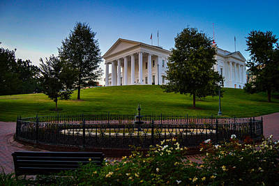 Virginia Capitol Building Art Print