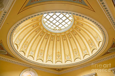 Photograph - Virginia Capitol - Dome Profile by Jemmy Archer