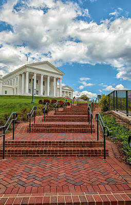 Photograph - Virginia Capitol by Jonathan Nguyen