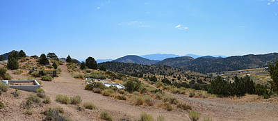 Photograph - Virginia City Cemetery  by Brent Dolliver