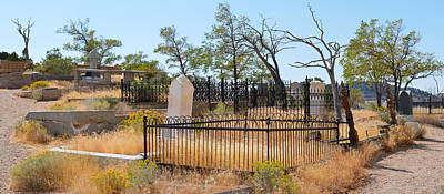 Photograph - Virginia City Cemetery Scene  by Brent Dolliver