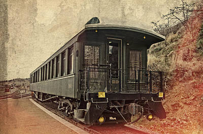 Photograph - Virginia City Pullman Car by Thom Zehrfeld