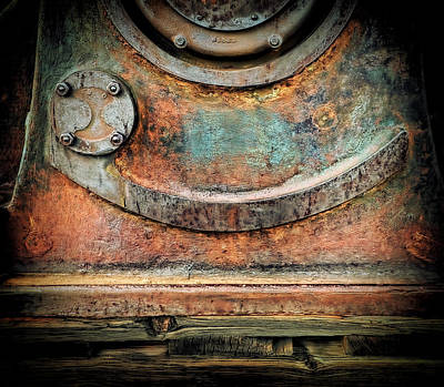 Art Print featuring the photograph Virginia City Rust by Steve Siri