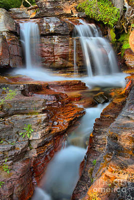 Photograph - Virginia Creek Cascades by Adam Jewell