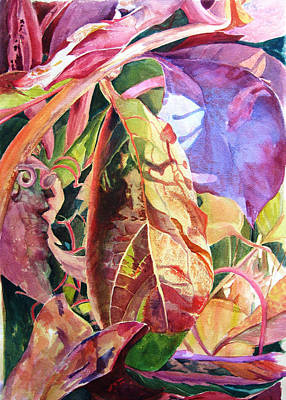 Painting - Virginia Creeper In The Morning by Lynn Marit Peterson