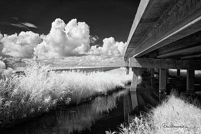 Dan Beauvais Royalty-Free and Rights-Managed Images - Virginia Dare Bridge 6303 by Dan Beauvais
