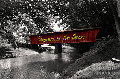 Mixed Media - Virginia Is For Lovers by Eric Liller
