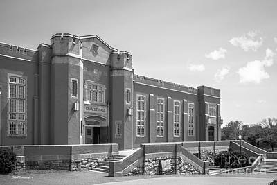 Vmi Photograph - Virginia Military Institute Crozet Hall by University Icons