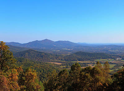 Photograph - Virginia Mountains In The Fall by Jill Lang