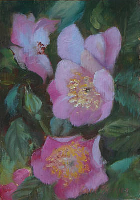 Painting - Virginia Rose by Carol Berning