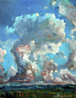 Painting - Virginia Sky by Susan Bradbury