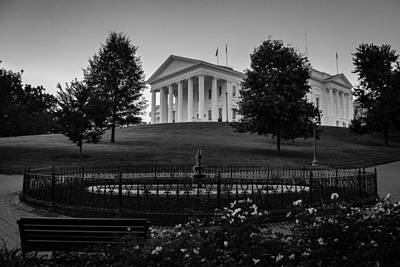Photograph - Virginia State Capitol by Aaron Dishner