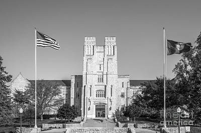 Special Occasion Photograph - Virginia Tech Burress Hall by University Icons