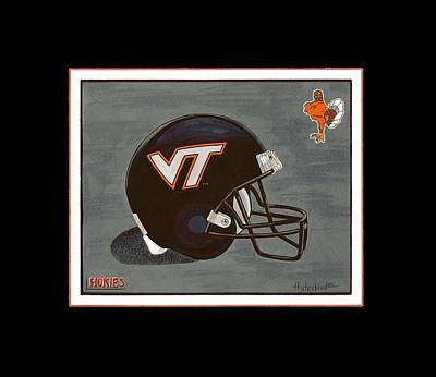 Virginia Tech T-shirt Art Print