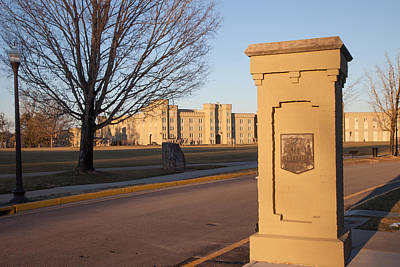 Photograph - Virginia, Virginia Military Institute Entrance by Melinda Fawver