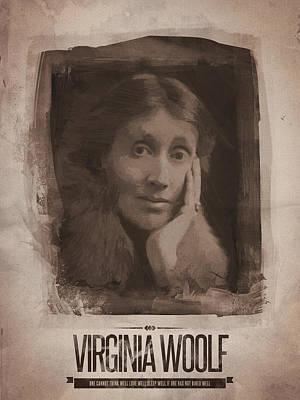 Mellow Yellow - Virginia Woolf by Afterdarkness