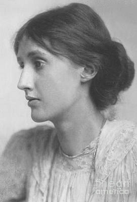 Bloomsbury Photograph - Virginia Woolf by George Charles Beresford