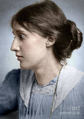 Photograph - Virginia Woolf by Granger