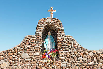Photograph - Virgin Of St Josephs Church Redford Texas by SR Green